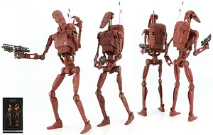 Geonosis Infantry Battle Droids - Sideshow Collectibles - Sixth Scale Figures