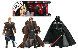 Anakin Skywalker to Darth Vader - TAC - Evolutions