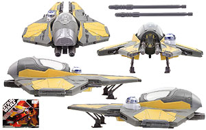 Anakin Skywalker's Jedi Starfighter - 30th Anniversary Collection - Vehicles
