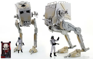 Imperial AT-ST Walker and Imperial AT-ST Driver - Hasbro - 3.75