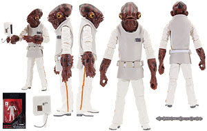 Admiral Ackbar - The Black Series [Phase III] - 3.75 Inch Figures