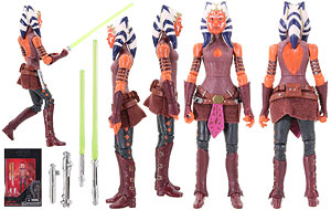 Ahsoka Tano - The Black Series [Phase III] - 3.75 Inch Figures