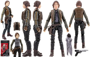 Sergeant Jyn Erso (Jedha) - The Black Series [Phase III] - Six Inch Figures