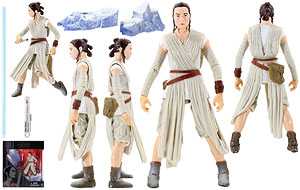 Rey (Starkiller Base) - The Black Series [Phase III] - Six Inch Figures