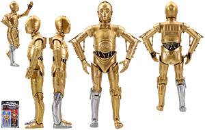 See-Threepio (C-3PO) - The Black Series [Star Wars 40] - 6 Inch Figures