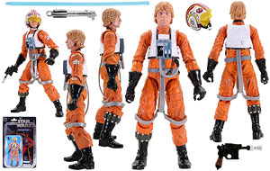 Luke Skywalker: X-Wing Pilot - The Black Series [Star Wars 40] - 6 Inch Figures