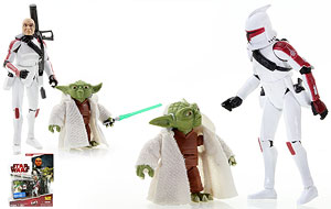 Yoda & Clone Trooper Jek - The Clone Wars [Red] - Screen Scenes