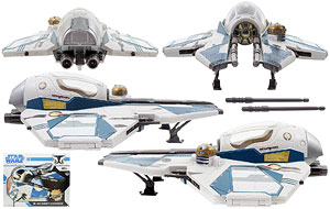 Obi-Wan Kenobi's Starfighter - The Clone Wars - Vehicles