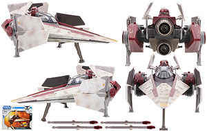 V-wing Starfighter - The Clone Wars [Blue] Vehicles