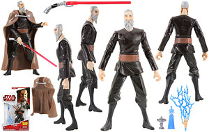 Count Dooku (CW27) - The Clone Wars [Red]