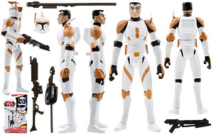 Clone Commander Cody (CW28) - The Clone Wars [Red]