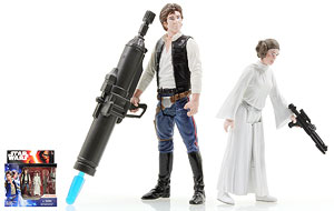 Han Solo/Princess Leia - The Force Awakens - Two-Packs