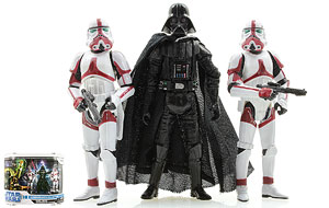 Darth Vader (with Incinerator Troopers) - The Legacy Collection