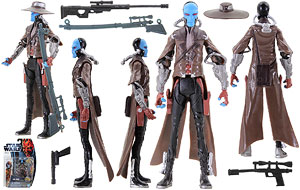 Cad Bane (CW4) - SW [TPM 3D] - The Clone Wars