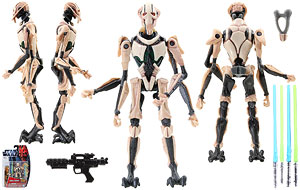 General Grievous (MH07) - SW [TPM 3D] - Movie Heroes
