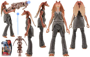 Jar Jar Binks (MH13) - SW [TPM 3D] - Movie Heroes
