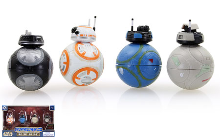 BB-8/2BB-2/BB-4/BB-9E - Disney - Droid Factory