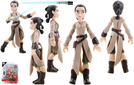 Rey (2) - Disney Store - Star Wars Toybox