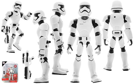 First Order Stormtrooper (3) - Disney Store - Star Wars Toybox