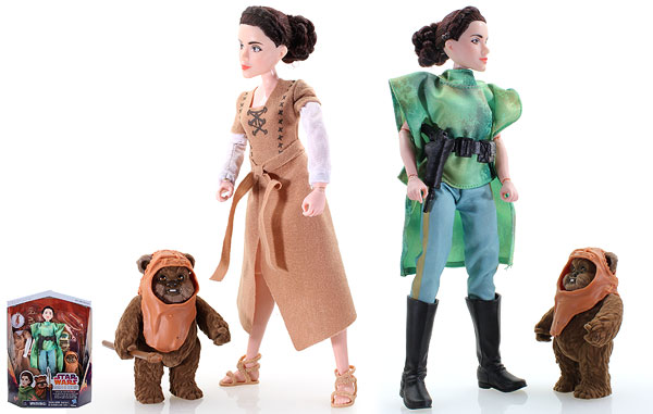 Princess Leia Organa & Wicket the Ewok (Endor Adventure) - Forces of Destiny