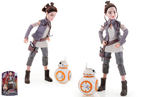 Rey of Jakku & BB-8 - Forces of Destiny