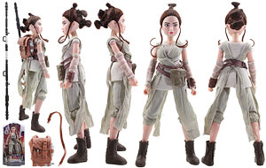 Rey of Jakku - Forces of Destiny