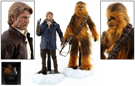 Han Solo & Chewbacca (MMS376) - Hot Toys - Sixth Scale Figures