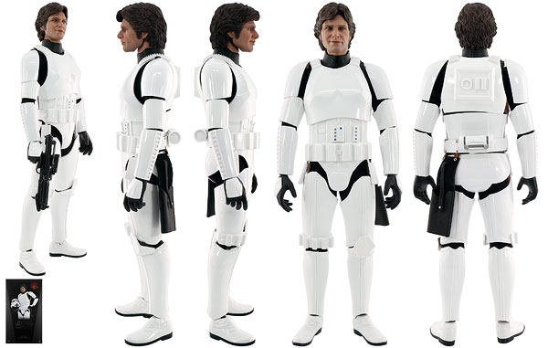 Han Solo (Stormtrooper Disguise Version) - Hot Toys - Sixth Scale Figures