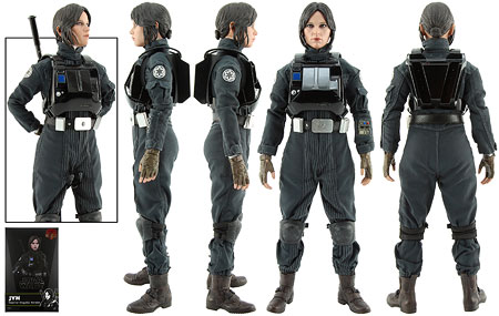Jyn Erso (Imperial Disguise Version) - Hot Toys - Sixth Scale Figures