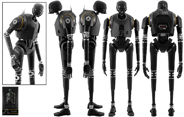 K-2SO - Hot Toys - Sixth Scale Figures