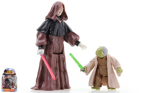 Darth Sidious/Yoda (MS04) - Star Wars Rebels - Mission Series