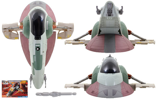 Boba Fett's Slave I - Star Wars Rebels - Vehicles