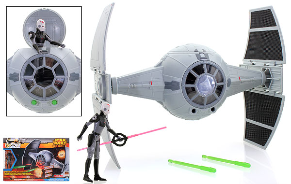 The Inquisitor's TIE Advanced Prototype - Star Wars Rebels - Vehicles