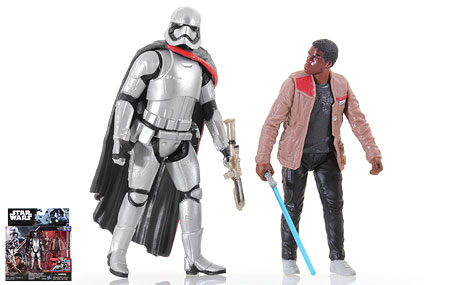 Captain Phasma/Finn (Jakku) - Rogue One - 2-Packs