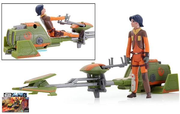 Ezra Bridger's Speeder - Rogue One - Vehicles