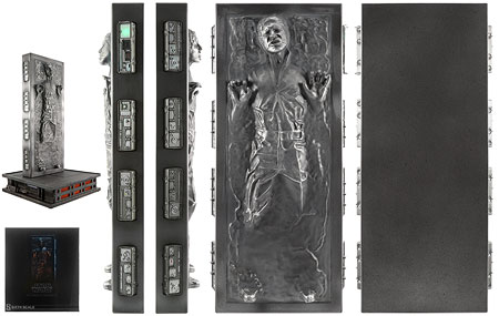 Han Solo In Carbonite - Sideshow Collectibles - Sixth Scale Figures