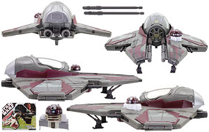 Obi-Wan Kenobi's Jedi Starfighter - 30th Anniversary Collection - Vehicles