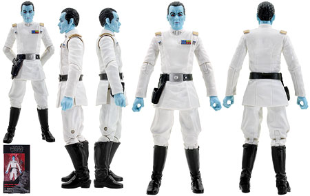 Grand Admiral Thrawn (47) - The Black Series - 6-Inch Figures