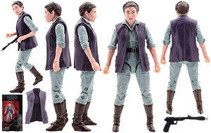 General Leia Organa (52) - The Black Series - 6 Inch Figures