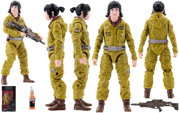 Resistance Tech Rose (55) - The Black Series - 6-Inch Figures