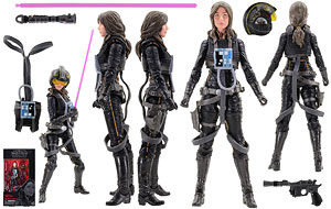 Jaina Solo (Legends) - The Black Series [Phase III] - 6 Inch Figures