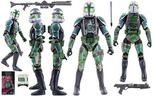Clone Commander Gree - The Black Series - Exclusives