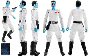 Grand Admiral Thrawn - The Black Series - Exclusives