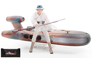 X-34 Landspeeder/Luke Skykwalker - The Black Series - Exclusives