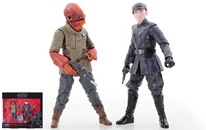 Admiral Ackbar/First Order Officer - The Black Series [Phase III] - 6 Inch Figures