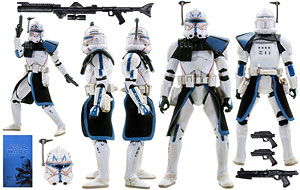 Clone Captain Rex - The Black Series [Phase III] - Exclusives
