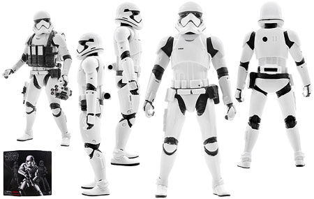First Order Stormtrooper [Ultimate Trooper Pack] - The Black Series - Six-Inch Figures