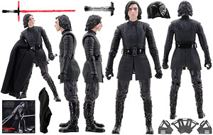 Kylo Ren (Throne Room) - The Black Series [Phase III] - 6 Inch Figures