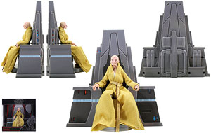 Supreme Leader Snoke (Throne Room) - The Black Series [Phase III] - 6 Inch Figures