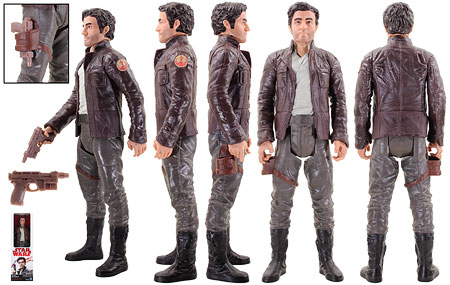 Captain Poe Dameron - Star Wars [The Last Jedi] - 12-Inch Figures